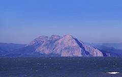 Rockin' the Sea ! (GEORGE TSIMTSIMIS) Tags: rock stiff achaia varasova greece aetoliaacarnania pentaxk1 ricohimaging waves blue
