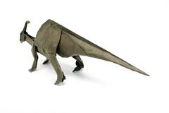 Parasaurolophus (Ivan Danny) Tags: origami dinosaur paper craft handcraft folding diagram art handicraft