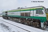 224 at Portlaoise, 1/3/18 (hurricanemk1c) Tags: railways railway train trains irish rail irishrail iarnród éireann iarnródéireann portlaoise 2018 generalmotors gm emd 201 224 0925corkheuston