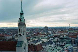 Munich Skyline (St. Peter's Church)