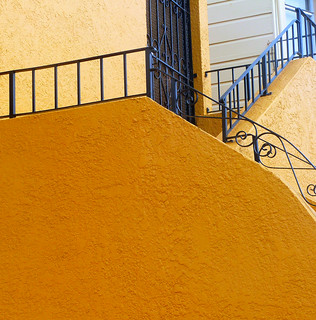 hello yellow stucco