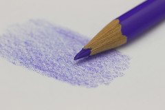 The Color Purple (Helen Orozco) Tags: macromondays myfavouritenovelfiction hmm novel thecolorpurple colouredpencil colouring purple
