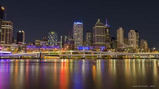 Brisbane river reflections
