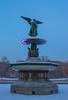 Bethesda Fountain (tazdir_photography) Tags: ny nyc newyorkcity newyork centralpark bethesda bethesdafountain fountain statue sky bluesky sculpture