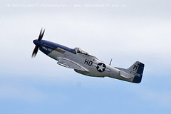 6187 Miss Helen P51 Mustang (photozone72) Tags: eastbourne airshows aircraft airshow aviation warbirds wwii usaf p51 p51mustang mustang canon canon7dmk2 canon100400f4556lii 7dmk2