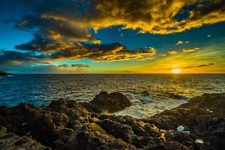 Sunset, Hotel Sol La Palma