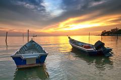 IMG_7131 ~ senja (alongbc) Tags: sundown boats cloud canon eos700d canoneos700d canonlens 10mm18mm wideangle travel place trip portdickson negerisembilan malaysia