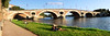 Panorama pont neuf Toulouse (Henri-Paul-G) Tags: france toulouse pontneuf garonne amoureux lovers
