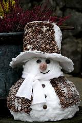 I want to build a snowman (Carandoom) Tags: snowman 2017 switzerland pilatus chapeau
