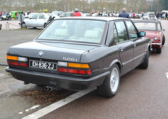 BMW 528i E28 5 series VEA 2018-01-14 2 (alaindurandpatrick) Tags: bmw bayerischemotorenwerke e28 bmw5series bmw528i bmwe28 veterancars germanveterancars traverséedeparis classicmotorshows vincennesenanciennes vincennes 94 valdemarne iledefrance greaterparisarea france