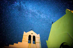 St Anargyri voyage into space (lemessin) Tags: nightsky darksky milkyway galaxy starrynight night stars astrophotography greeksky syros apanomeria nightscaper