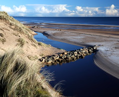 Black Dog Beach (PeskyMesky) Tags: aberdeenshire blackdogbeach beach landscape water scotland flickr 2018 dunes canon canon6d