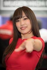 TAS2018 (byzanceblue) Tags: ã¤ã¨ãã¼ red woman girl female tas2018 tokyoautosalon beautiful japanese d850 nikkor bokeh