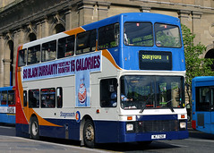16433 WLT 528 (N333 HGK) (Cumberland Patriot) Tags: stagecoach busways travel services north east england newcastle upon tyne and wear pte south shields church way passenger transport executive volvo olympian nc northern counties palatine countybus n333 16433 wlt528 n333hgk step entrance double deck decker bus lt london diesel engine road vehicle omnibus buses swoops 1 neville street