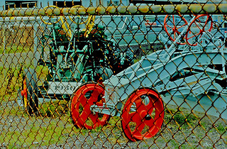 WEHR ONE MAN Power Grader, 49th Street Pinellas Park, Florida (2 of 3 )