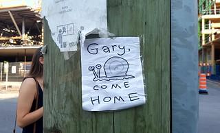 Gary, come home