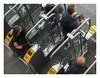 Heavy traffic (AurelioZen) Tags: europe netherlands zuidholland leiden station ns passengers controlgates accesscontrol publictransportation ovchipkaart toegangspoortjes masstransit openbaarvervoer