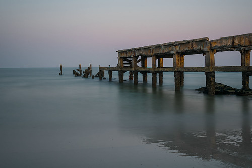Abandoned Pier, Hua-Hin, Thailand