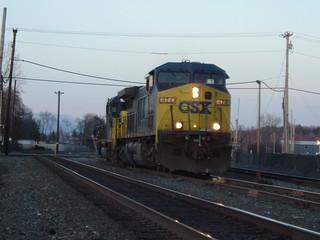 CSX CW44AC #474
