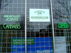 Kushclub Cannabis (knightbefore_99) Tags: weed ganja pot marijuana herb drugs legal kushclub vancouver eastvan joint rolled awesome commercialdrive pain dispensary best art