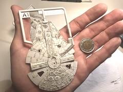 20180111_212928765_iOS (FarFarAway_ScaleModels) Tags: starwars sw episode7 tfa theforceawakens millenniumfalcon milennium jakku destroyer scalebuild modellkit model makett diorama scratchbuilt scratchbuild kitbash