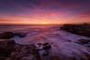 Prediction (Crouchy69) Tags: sunrise dawn landscape seascape ocean sea water coast clouds sky rocks cliffs colourful little bay sydney australia