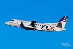 VH-OLM ZL S340 34L YSSY-2931 (A u s s i e P o m m) Tags: mascot newsouthwales australia au regionalexpress rex zl s340 saab syd yssy sydneyairport
