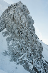 Snow Bud (deletio) Tags: 2017 d700 mountains aisnikkor50mmf14 ice glacier snow white montblanc chamonix auvergnerhônealpes france fr