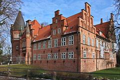 Hamburg-Bergedorf, Schloss (Mecklenburg-Foto) Tags: hamburg schloss bergedorf backstein renaissance neugotik