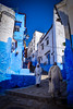 Chefchaouen street (Patrycia g) Tags: people street chefchaouen morocco building travel men africa outdoor chaouen medina unesco local