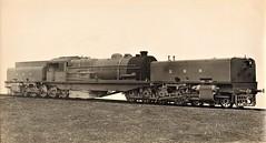 "India Railways - Bengal Nagpur Railway - BNR Class N ""Beyer Garratt"" type 4-8-0+0-8-4 steam locomotive Nr. 814 (Indian State Railways Nr. 38814) (Beyer Peacock Locomotive Works, Manchester-Gorton 6587 /1929) (HISTORICAL RAILWAY IMAGES) Tags: steam locomotive bp india bnr garratt bengal nagpur railway beyerpeacock manchester gorton"