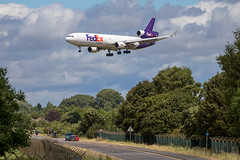 FedEx - McDonnell Douglas MD-11F N602FE @ Fairford (Shaun Grist) Tags: fedex mcdonnelldouglas md11 freight cargo ffd fairford airport aircraft aviation aeroplanes airline avgeek