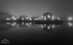 Foggy Forest Park (www.ArtofFrozenTime.com) Tags: canvas canvasart fineart fineartphotography fog forestpark homeart homedecor landscapephotography largecanvas longexposure midwestlandscapephotographer midwestphotographer midwestphotography missouri nathanfrankbandstand nightphotography officeart officedecor oversizedcanvas pagodalake reflection stl scenic silhouette stlouis stlouismo stlouismissouri stlouisphotography view vista wallart walldecor winter foggy art consultant