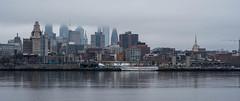 Philadelphia Seaport and Philly's city skyline (kuntheaprum) Tags: philadelphiaseaport bridge philadelphia seaport cityscape nikon d750 samyang 85mm f14