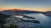 Queenstown Sunset (Daniel.Peter) Tags: gondola lakewakatipu nz neuseeland newzealand queenstown remarkables theremarkables dpe3x lake
