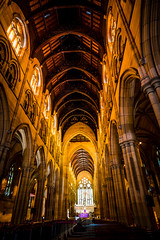 St Mary Cathedral Sydney (eggwah123) Tags: sony sonyfe1635mmf4 zeiss zeiss1635mmf4 ff fullframe a7rii mirrorless ultrawideangle stmarycatherfral cathedral lowlight highiso lightroom handheld church catholicchurch fe1635mmf4 indoor sydney australia