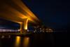 Rooseveld Bridge (jaosehl (Ashleigh)) Tags: rooseveldbridge stuart florida downtownstuart nightphotography longexposure stlucieriver bluehour bridge itwasalittlescaryundertherebymyself eventhoughthepolicemansaiditwasfine