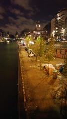 197-Paris décembre 2017 - Quai de Valmy au bord du Canal Saint-Martin (paspog) Tags: paris france décembre nuit 2017 nacht night december dezember stalingrad canal canalsaintmartin