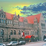 St Louis Mo ~ Former Union Station ~ Double Tree Hotel ~ Main Entrance ~  Old photo thumbnail