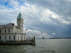 Pier A (Goggla) Tags: nyc new york harbor weather fog cloud pier governors island goglog