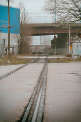 going under Hastings St (annapolis_rose) Tags: vancouver strathcona raymurave railwaytracks
