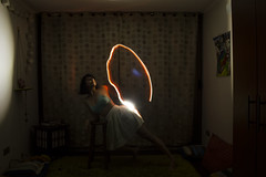 Lumínica IX (Antífama) Tags: haz luz light lightpainting woman mujer danza baile dance trance inner intro power energy energía rayo ray intimacy intimidad personal soledad alone dark darkness oscuridad