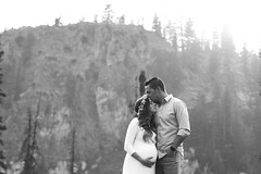 (KieraJo) Tags: 50mm 14 canonef50mmf14usm bokeh lens canon 5d mark 3 iii 5d3 fullframe dslr utah logan cache valley photographer photographers beautiful mountain rock pines pine trees summer tony grove maternity photos couple pregnant pregnancy styled shoot gorgeous black white grayscale monotone
