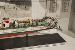 2017-09-13_10-51-48 Landing Craft (canavart) Tags: militarymuseumsofcalgary scalemodel lci299 landingcraftinfantry normandy dday museum