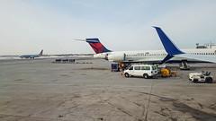 (2018-02-13) Sprint Headquarters trip-15 (Swallia23) Tags: delta flight msptomci minneapolisstpaul kansascity airport winter snow missouri river ice