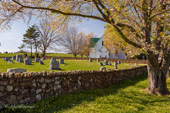 Historic Church, Witness to over 275 Spring Seasons (John H Bowman) Tags: virginia madisoncounty churches colonialchurches lutheranchurches hebronlutheranchurch historic nrhp countrychurches cemeteries gravestones stonework stonewalls springblossoms spring march2012 march 2012 canon241054l