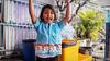 Happy Thai school girl (Lцdо\/іс) Tags: thai krabi lцdоіс koh thailande thailand travel thailandia school girl happy voyage james bond island panyi muslim village floating