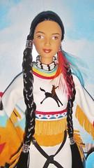 2003 Spirit of the Sky Barbie (3) (Paul BarbieTemptation) Tags: limited edition native spirit collection american katiana jimenez world culture sky dream catcher tru exclusive