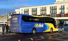 54823 YX67UPL Stagecoach Highlands (busmanscotland) Tags: 54823 yx67upl stagecoach highlands yx67 upl volvo b11r plaxton elite scottish citylink megabus megabuscom highland country buses