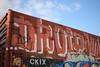 Droid (NJphotograffer) Tags: graffiti graff trackside railroad rail art freight train bench benching box car boxcar roller droid907 droid 907